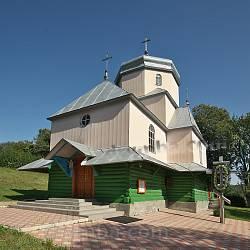 Церковь Воздвижения Честного Креста в Илове