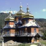 Церква св. Миколая у селі Козьова
