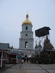 Киев. Колокольня Софиевского собора