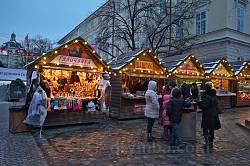 Рождественская ярмарка на площади Рынок
