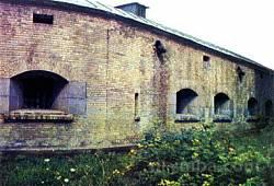 Киевская крепость. Косой капонир