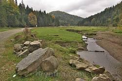 Пейзаж по дороге в село Каменка 1