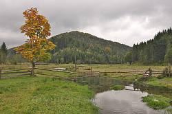 Пейзаж по дороге в село Каменка 3
