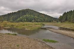 Пейзаж по дороге в село Каменка 4