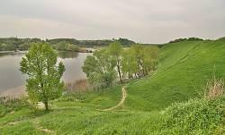 Склоны Жидачевского городища