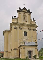 Костел Воздвиження Чесного Хреста у Берездівцях