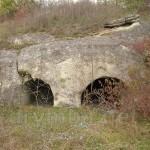 Група з 4 печер (печерний храм) (над гаражами по вул.Лисенка, м.Миколаїв, Львівська обл.)