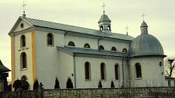 Храм св.Миколая в селі Лисятичі