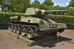 Корсунь-Шевченківський музей. Танк Т-34