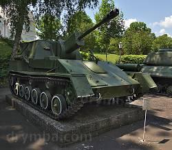 Корсунь-Шевченківський музей. Самохідна артилерійська установка