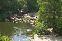 Корсунський парк. Протока між островами Дені та Коцюбинського