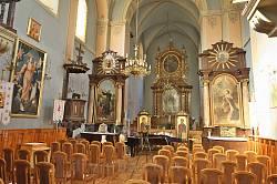 Интерьер костела Св. Лазаря в Львове