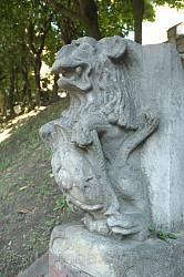 Колодец-источник со львами