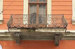 Каменица Шольц-Вольфовичей. Балкон