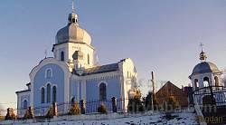 Новозбудований храм Богоявлення Господнього в селі Вовчухи
