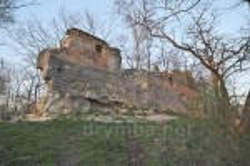 Фрагмент стены Высокого Замка