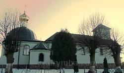 Храм Воздвиження Чесного Хреста 1888 року в селі Керниця Городоцького району.