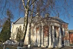 Раздол. Костел монастыря кармелитов