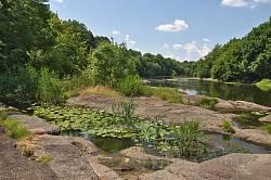 Корсунь. Береги Росі у парку Лопухіних. Фото 1
