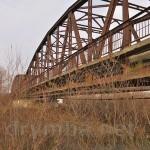 Старый мост через Днестр (с.Розвадов, Львовская обл.)