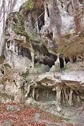 Левая часть скалы
