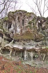 Центральна частина скелі