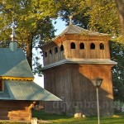 Воля-Висоцька. Дзвіниця церкви св. Михаїла