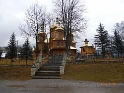 Ворохта. Нова дерев'яна церква Різдва Богородиці