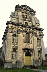 Костел Різдва Богородиці (мур.) 1654 р у Комарно