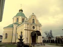 Церква святих Апостолів Петра й Павла в м. Комарно
