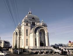 Церква Пресвятої Євхаристії в місті Рудки (мурована, 2008 р.)