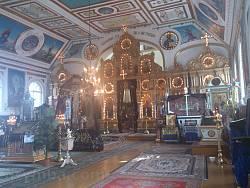 Миколаївська церква у Тростянці. Інтер'єр