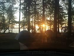 Ранок на Білому озері