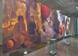 Репродукції картин Тараса Шевченка в музеї на Тарасовій горі