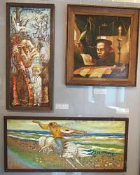 Канів. Музей на Тарасовій горі. Картини сучасних художників 1