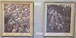 Канів. Музей на Тарасовій горі. Картини сучасних художників 3