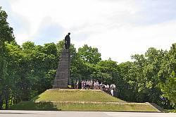 Тарасова гора. Могила Т.Г.Шевченка