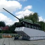 Самохідна артилерійська установка СУ-100 (м.Рівне)