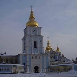 Дзвіниця Михайлівського Золотоверхого монастиря у Києві