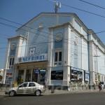 """Черновцы. Бывшая синагога """"Темпль"""". Сейчас - кинотеатр"""