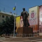 Чернівці. Пам'ятник Тарасу Шевченку