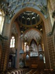 Интерьер армянской церкви