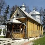 Церква св.Василія Великого (дерев'яна) (с.Бартатів, Львівська обл.)