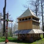 Дерев'яна дзвіниця церкви Василя Блаженного в селі Бартатів (1826 року)