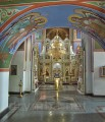 Інтер'єр Георгіївського собору у Каневі