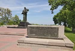 Пам'ятник на честь визволення Канева від фашистів