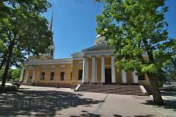 Дніпропетровськ. Преображенський собор. Бічний фасад