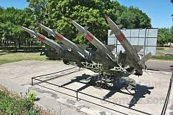 Дніпропетровськ. Ракети біля історичного музею