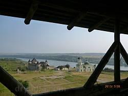 Вид крепости из галереи Бендерские ворота