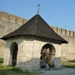 Хотинский замок. Колодец во дворе